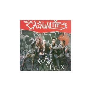 The Casualties: For The Punx - Cover