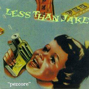 Less Than Jake: Pezcore - Cover
