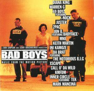 Bad Boys - Music From The Motion Picture - Cover