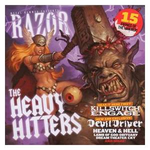 Metal Hammer 194 - Razor : The Heavy Hitters - Cover