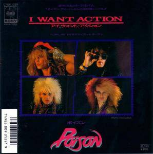 Poison: I Want Action - Cover