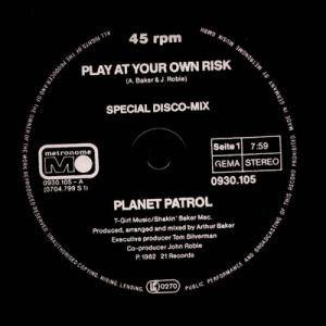 Planet Patrol: Play At Your Own Risk - Cover