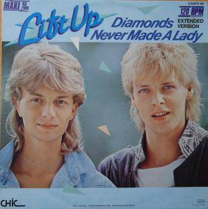 Lift Up: Diamonds Never Made A Lady - Cover