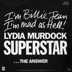 Lydia Murdock: Superstar - Cover