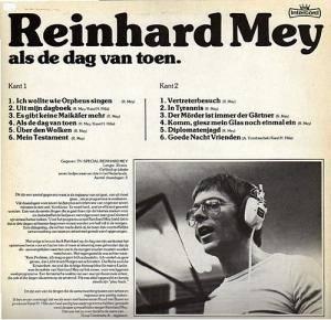 Reinhard Mey / Alfons Yondrascheck: Als De Dag Van Toen (Split-LP) - Bild 2