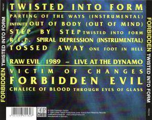 Forbidden: Twisted Into Form (CD) - Bild 4