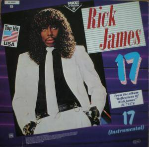 Rick James: 17 - Cover