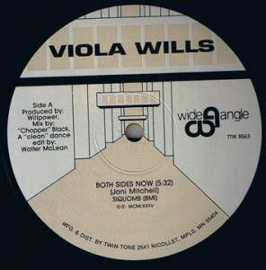 Cover - Viola Wills: Both Sides Now / Dare To Dream