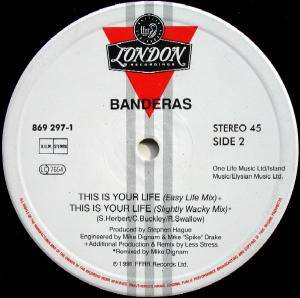 "Banderas: This Is Your Life (12"") - Bild 4"