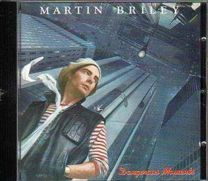 Martin Briley: Dangerous Moments - Cover
