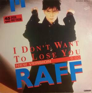 Cover - Raff: I Don't Want To Lose You