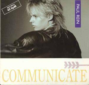 Paul Rein: Communicate - Cover