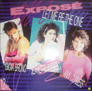Cover - Exposé: Let Me Be The One