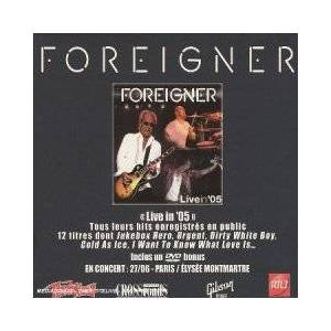 Foreigner: Live In '05 - Cover