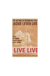 Jackie Leven: Meeting Of Remarkable Men - Jackie Leven Live, The - Cover