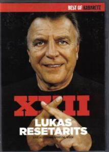 Cover - Lukas Resetarits: Best Of Kabaret - Lukas Resetarits XXII