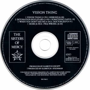 The Sisters Of Mercy: Vision Thing (CD) - Bild 3