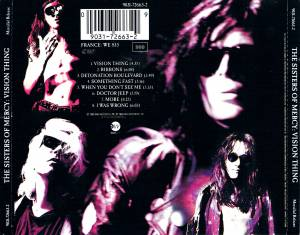 The Sisters Of Mercy: Vision Thing (CD) - Bild 5