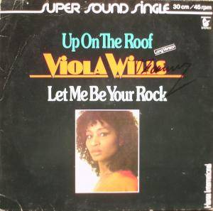 Cover - Viola Wills: Up On The Roof