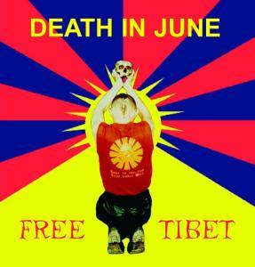 Death In June: Free Tibet - Cover