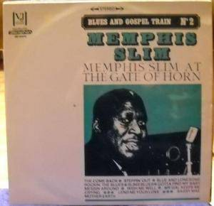 Cover - Memphis Slim: At The Gate Of Horn