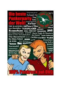 Force Attack - Festival-Sampler 2005 / 100% Punkrock auf DVD - Cover
