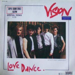 Vision: Love Dance - Cover