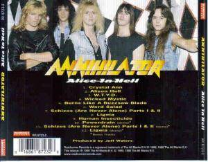 Annihilator: Alice In Hell (CD) - Bild 2