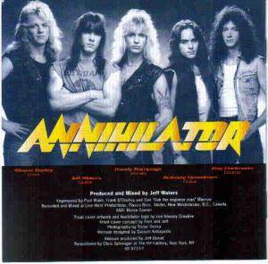 Annihilator: Alice In Hell (CD) - Bild 4