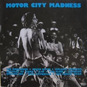 Motor City Madness [Detroit * Glitterhouse] - Cover