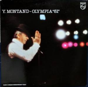 Yves Montand: Olympia '81 - Cover