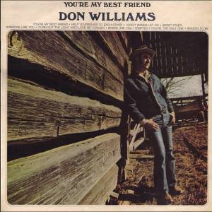 Cover - Don Williams: You're My Best Friend