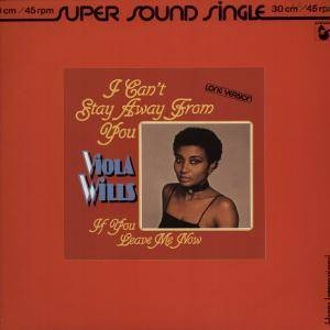 Cover - Viola Wills: I Can't Stay Away From You
