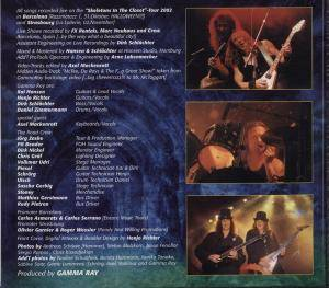 Gamma Ray: Skeletons In The Closet (2-CD) - Bild 4