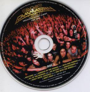 Gamma Ray: Skeletons In The Closet (2-CD) - Bild 5