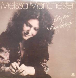Cover - Melissa Manchester: Better Days & Happy Endings