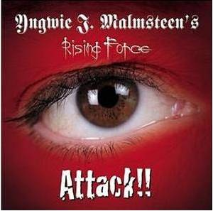 Yngwie J. Malmsteen's Rising Force: Attack!! (CD) - Bild 1