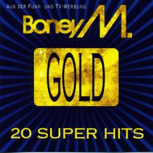 Boney M.: Gold - 20 Super Hits - Cover