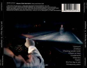 Anathema: A Fine Day To Exit (CD) - Bild 2