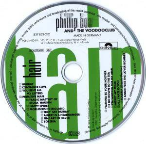 Phillip Boa And The Voodooclub: Hair (CD) - Bild 10