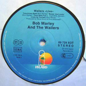 Bob Marley & The Wailers: Live! (LP) - Bild 2