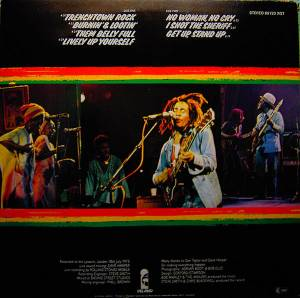 Bob Marley & The Wailers: Live! (LP) - Bild 4