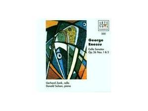 Cover - George Enescu: Cello Sonatas Op. 26 Nos. 1 & 2