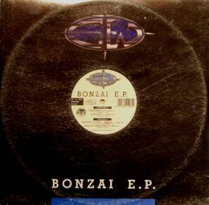 Cover - Blue Alphabet: Bonzai E.P.