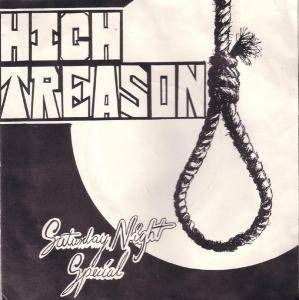 High Treason: Saturday Night Special - Cover