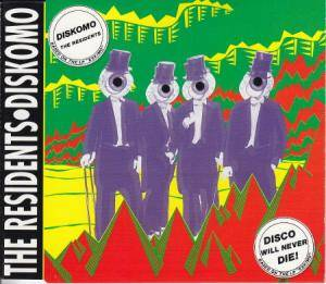 The Residents: Diskomo - Cover