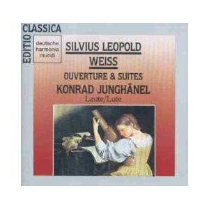 Cover - Sylvius Leopold Weiss: Overture & Suites