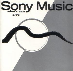 What's New 2/92 Sony Music - Cover