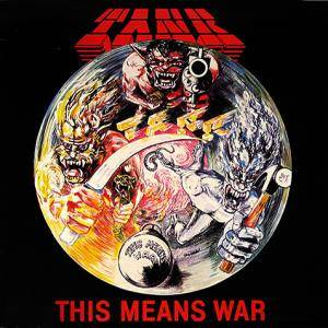 Tank: This Means War - Cover