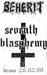 Cover - Beherit: Seventh Blasphemy